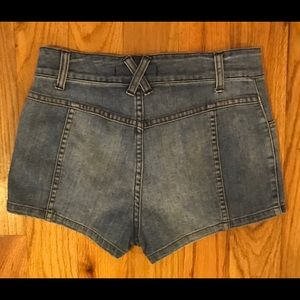 Free People Shorts - Free people Denim Shorts